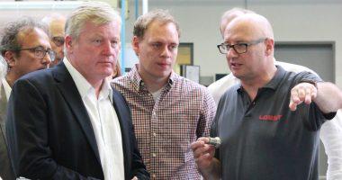 Wirtschaftsminister Dr. Bernd Althusmann zu Gast bei LOEST